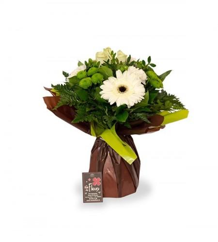 Bouquet Athènes blanc - S