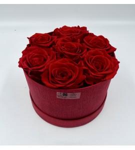 Roses éternelles majestueuses